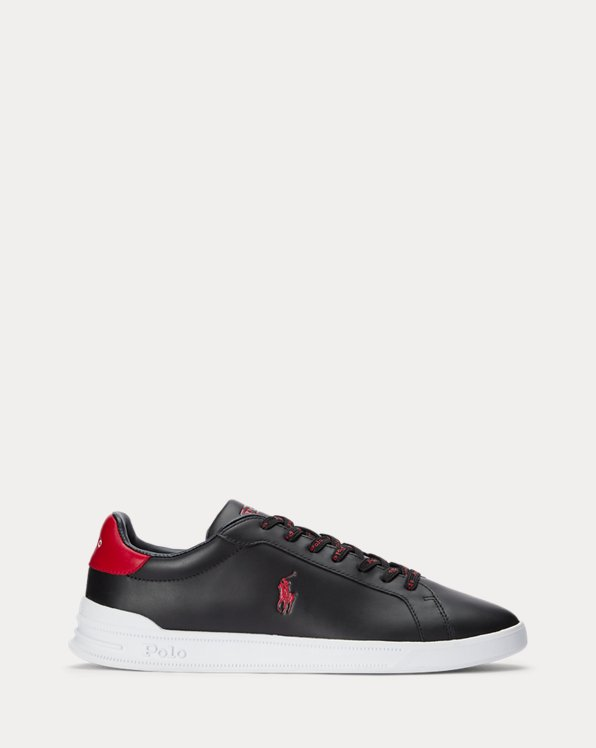 Sneaker Heritage Court II in pelle