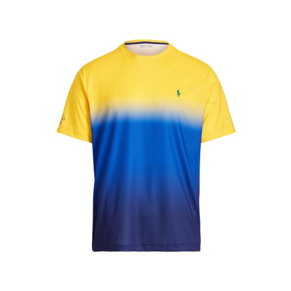 Polo Ralph Lauren U.s. Open Performance Jersey T-shirt In Blue