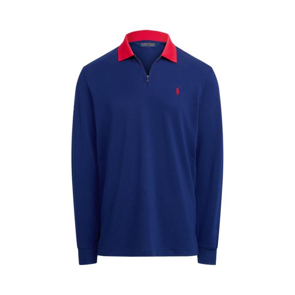 폴로 랄프로렌 남성 골프웨어 Polo Ralph Lauren U.S. Open Classic Fit Pique Pullover,Fall Royal
