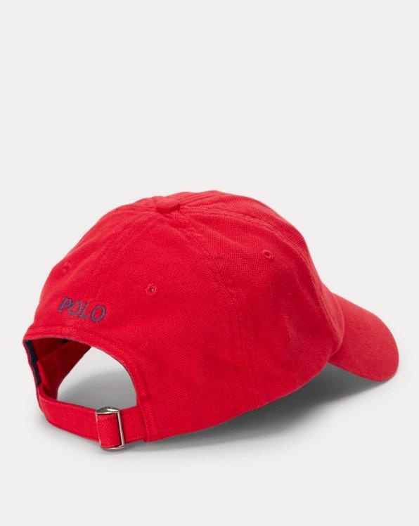 Cotton Piqué Ball Cap