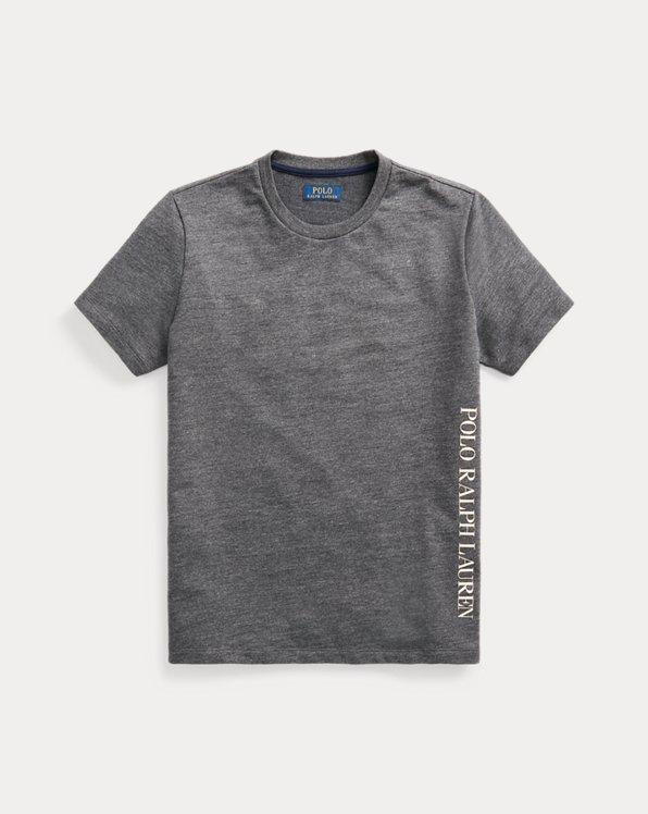 T-Shirt aus Jersey mit Logo