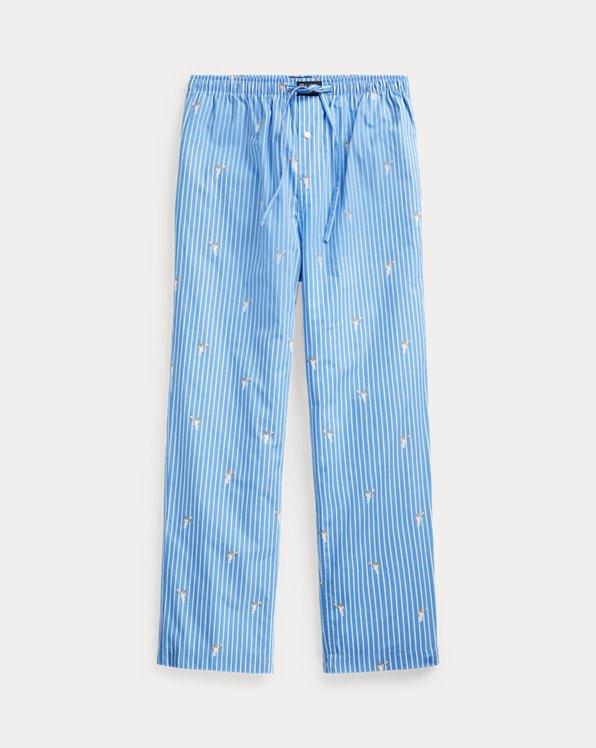 Polo Bear Striped Pyjama Trouser