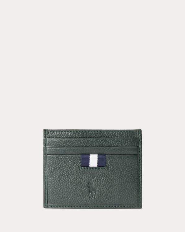Wimbledon Tumbled Leather Card Case