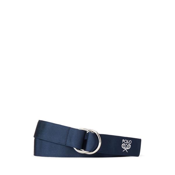 Wimbledon Grosgrain O-Ring Belt