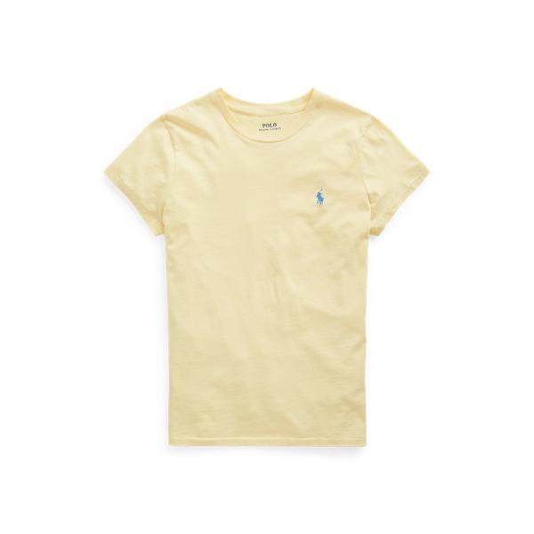 폴로 랄프로렌 Polo Ralph Lauren Cotton Jersey Crewneck Tee,Wicket Yellow