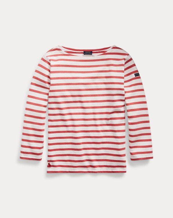 Striped Boatneck Shirt
