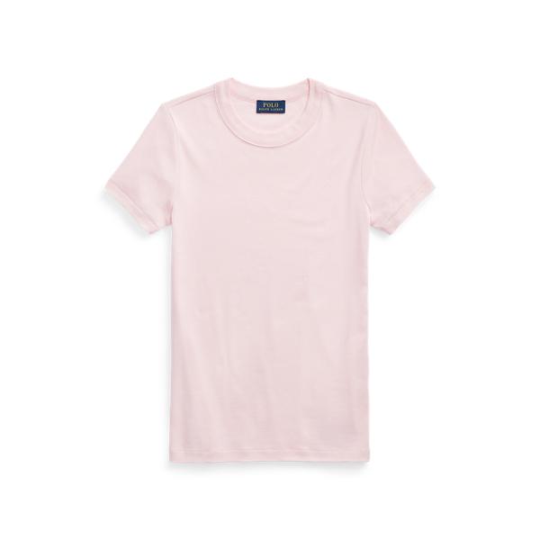 폴로 랄프로렌 Polo Ralph Lauren Cotton Crewneck Tee,Pink Sand