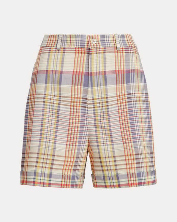 Madras Cotton Short