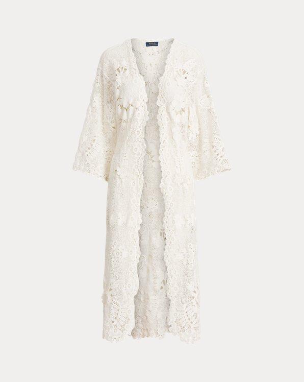 Cotton Lace Duster