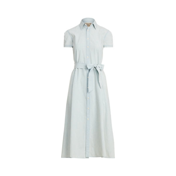 폴로 랄프로렌 Polo Ralph Lauren Cotton Chambray Shirtdress
