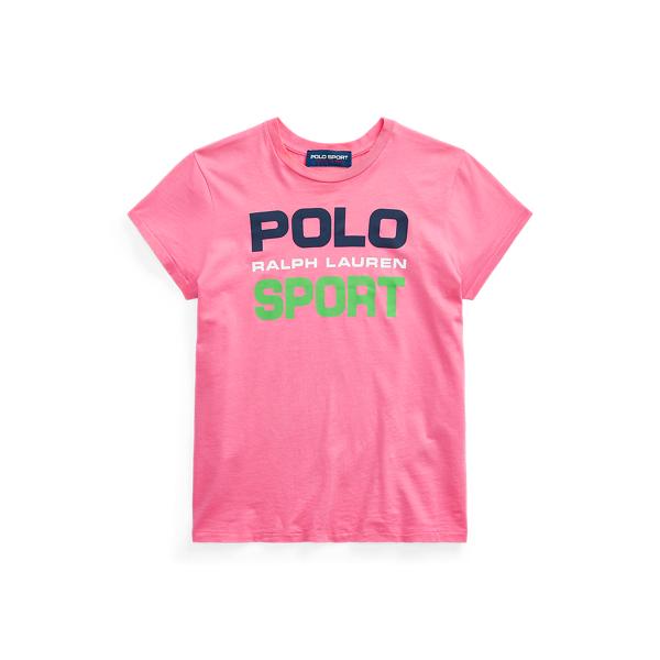 폴로 랄프로렌 Polo Ralph Lauren Polo Sport Cotton Tee,Blaze Knockout Pink