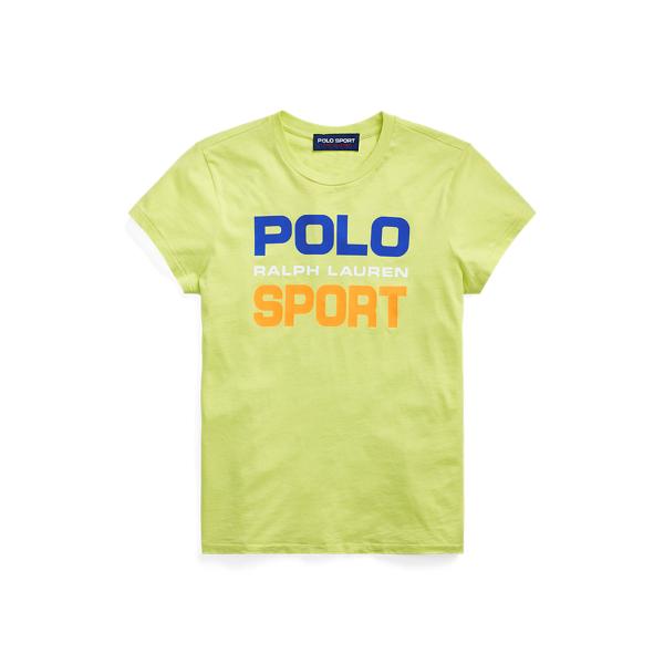 폴로 랄프로렌 Polo Ralph Lauren Polo Sport Cotton Tee,Bright Pear
