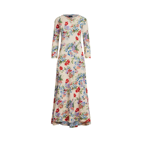 폴로 랄프로렌 Polo Ralph Lauren Floral Henley Dress,Scattered Floral