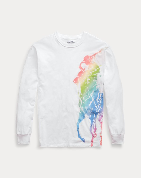 Ombré Pony Long-Sleeve T-Shirt