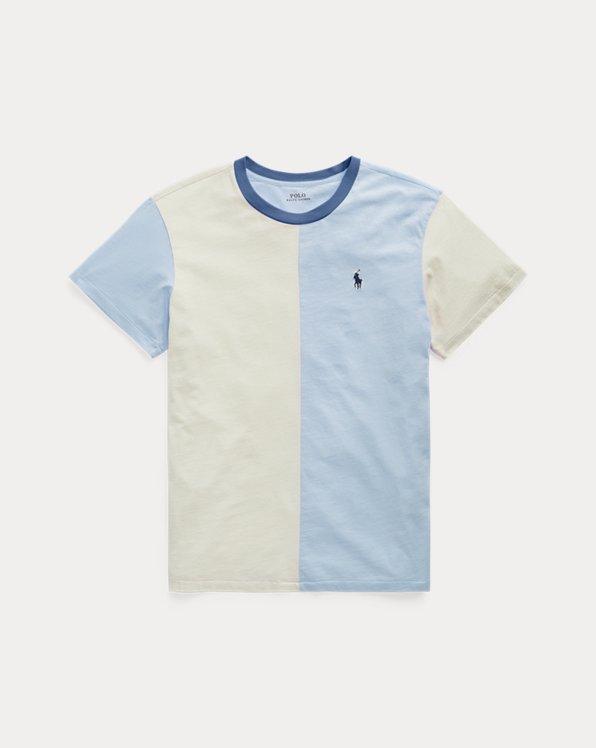 Cotton Jersey Split T-Shirt