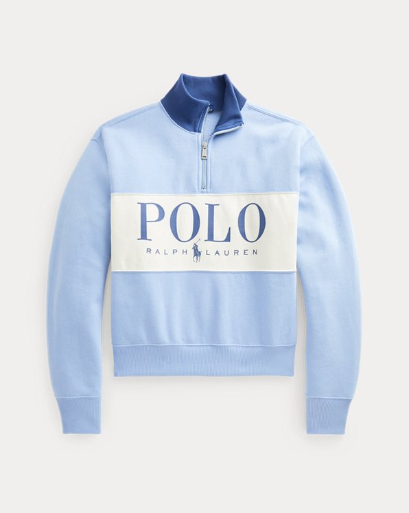 Polo Logo Fleece Quarter-Zip