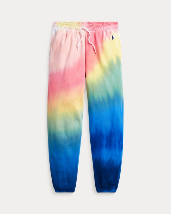 Tie-Dye Terry Tracksuit Bottoms