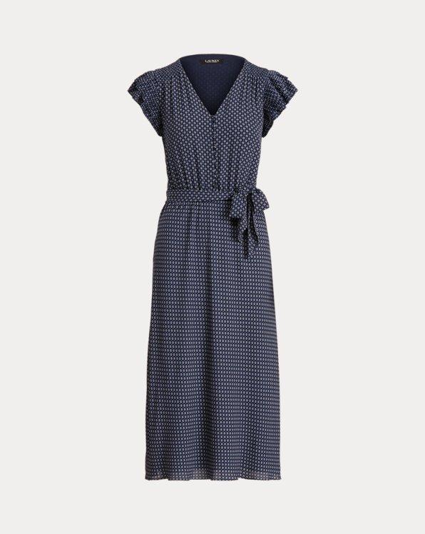 Batik Georgette Dress