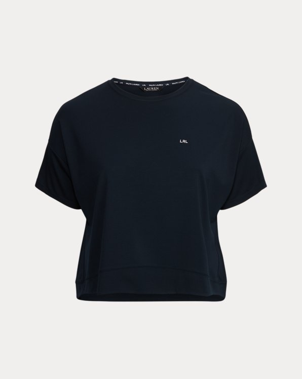 Knit Short-Sleeve Top