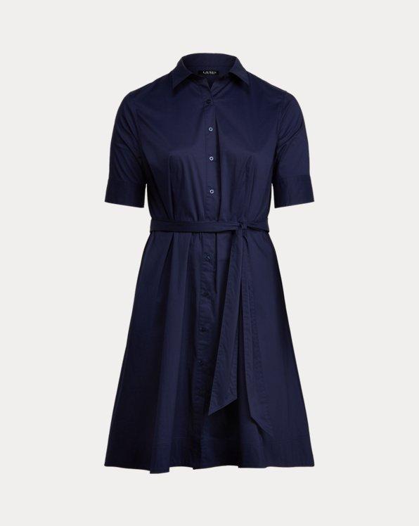 Hemdkleid aus Baumwollmischung