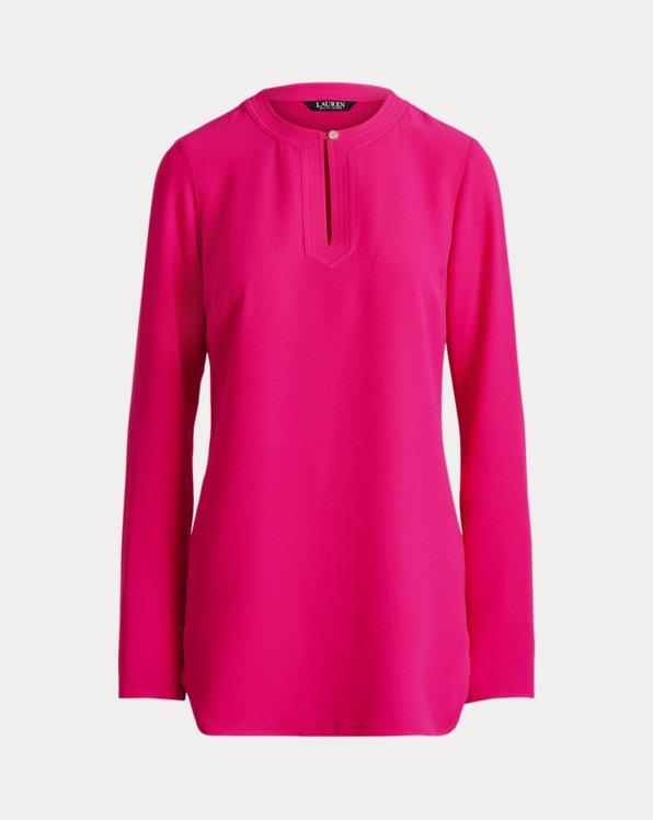 Georgette Long-Sleeve Tunic