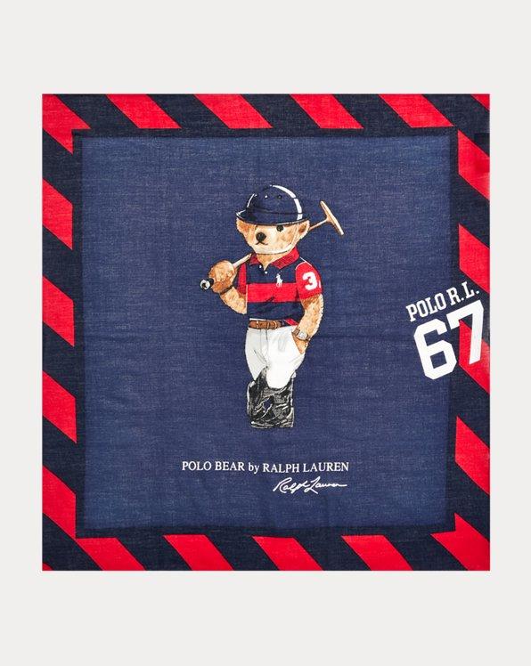 Polo Bear Cotton Bandanna