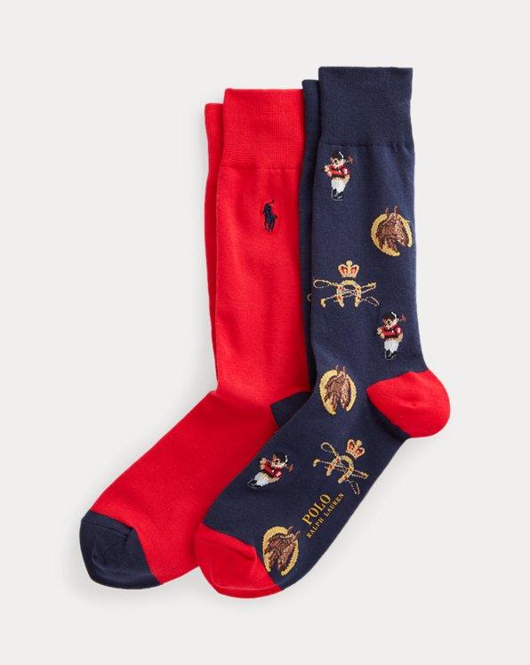 Polo Bear Trouser Sock 2-Pack