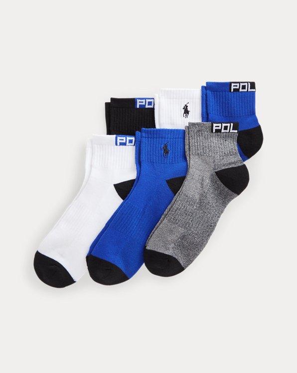 Cushioned Quarter-Crew Sock 6-Pack