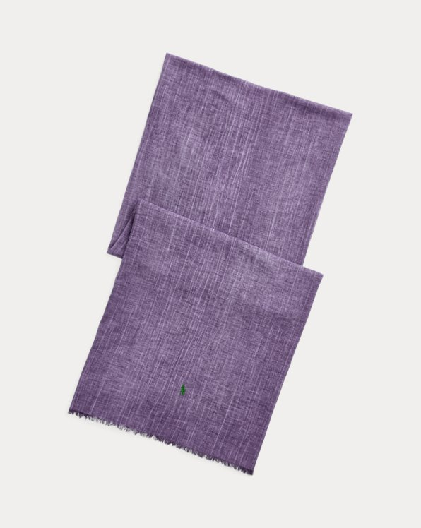 Crinkled Cotton Scarf