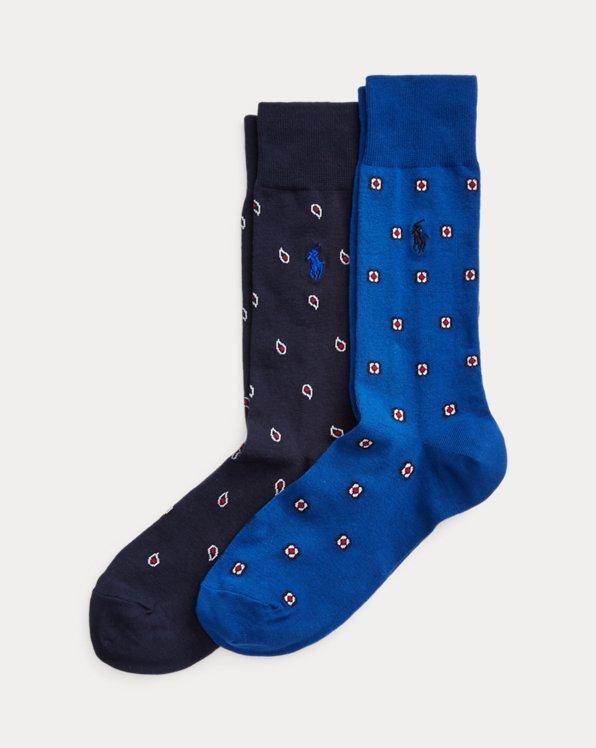 Paisley & Medallion Sock 2-Pack