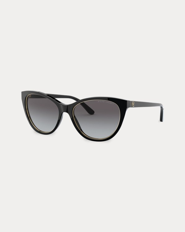 Logo Cat-Eye Sunglasses