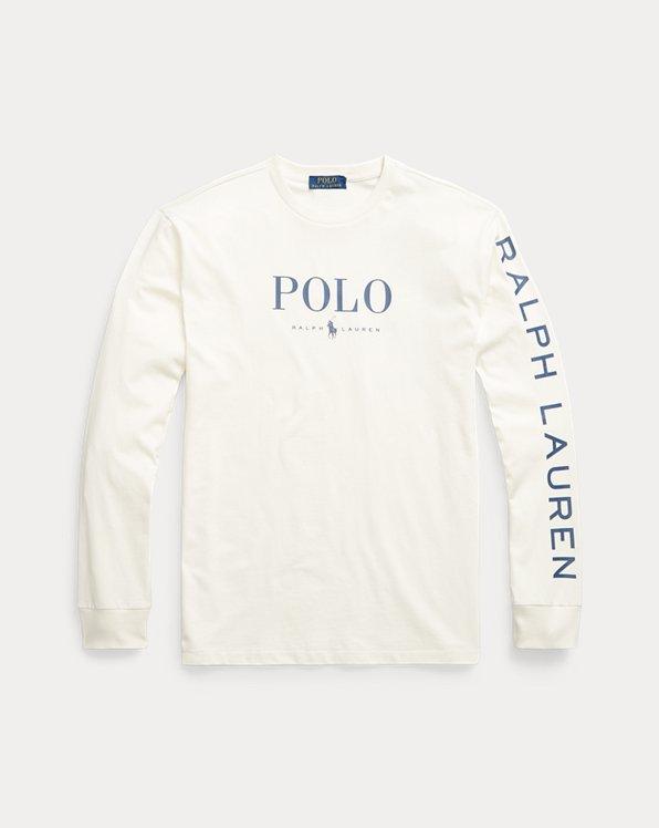 Cotton Jersey Long-Sleeve Shirt
