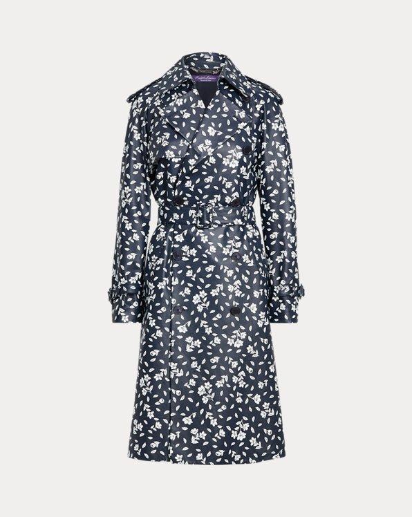 Carlynn Floral Lambskin Coat