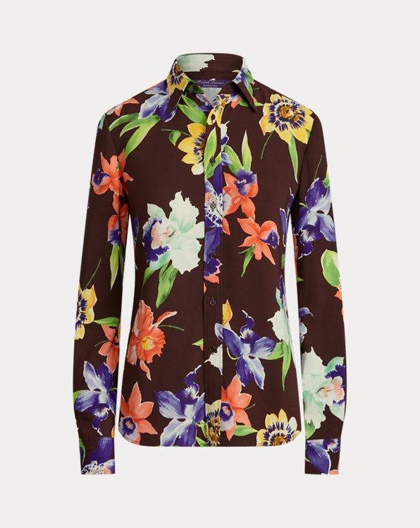 Hailey Floral Cady Shirt