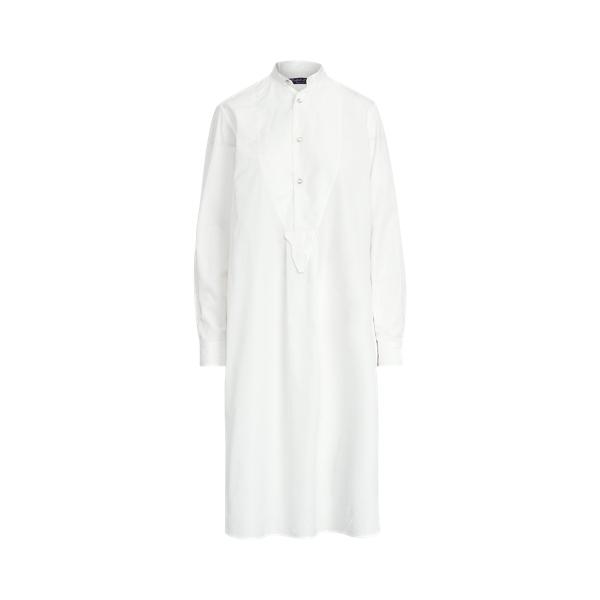 Ralph Lauren GARRET BROADCLOTH BIB-FRONT DAY DRESS