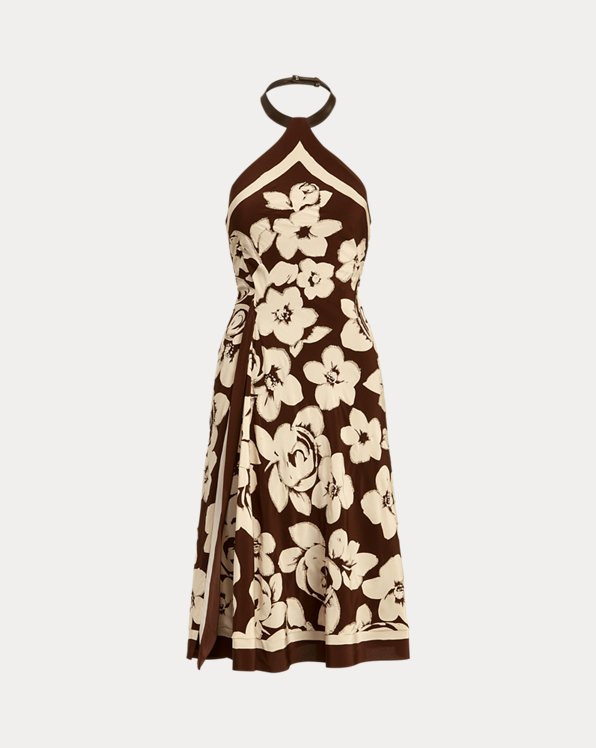 Kiernan Embellished Silk Cocktail Dress