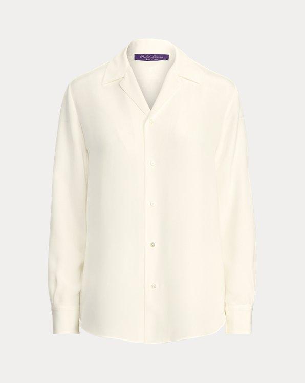 Darien Silk Marocain Shirt