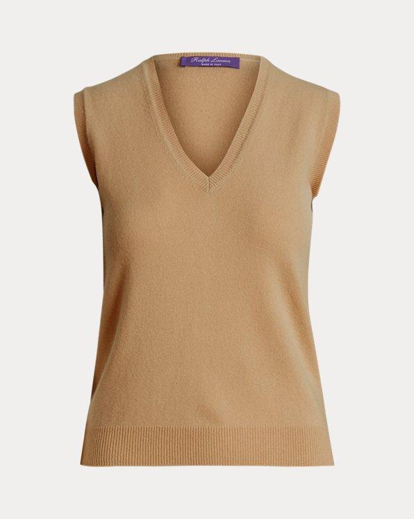 Lofty Cashmere V-Neck Sweater Vest