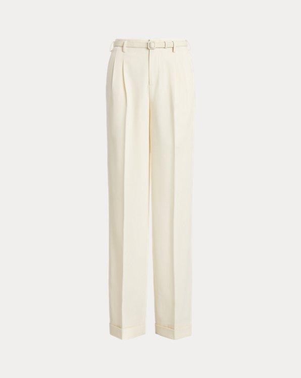 Stamford Wool Crepe Trouser