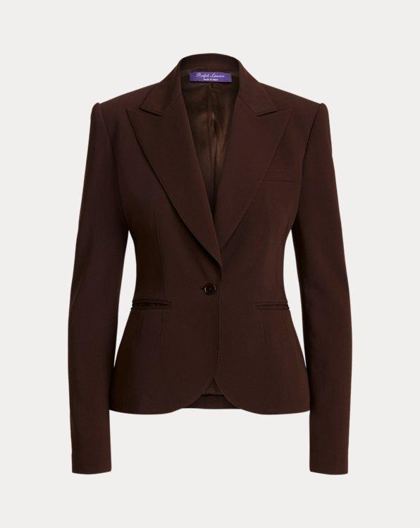Alysha Wool Gabardine Jacket