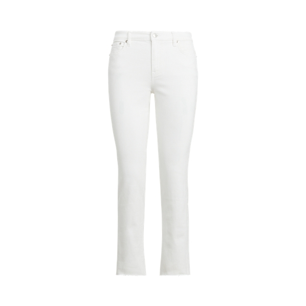 로렌 랄프로렌 데님진 Polo Ralph Lauren Premier Straight Curvy Jean,White Wash