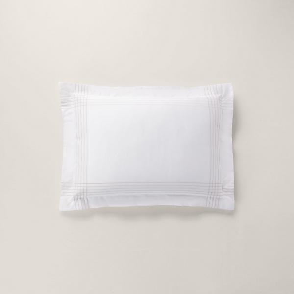 Organic Cotton Sateen Handkerchief Sham