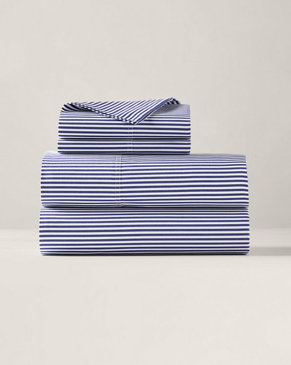 Lenzuola Shirting Stripe in cotone