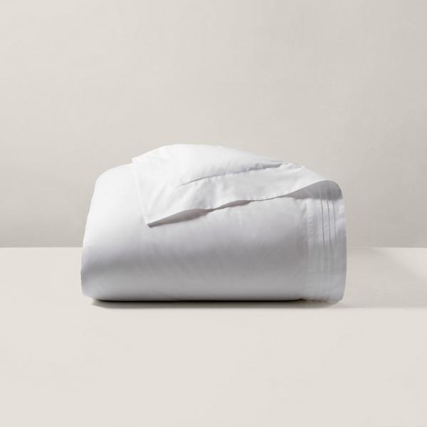 Ralph Lauren Home Organic Tuxedo Pleat Duvet Cover
