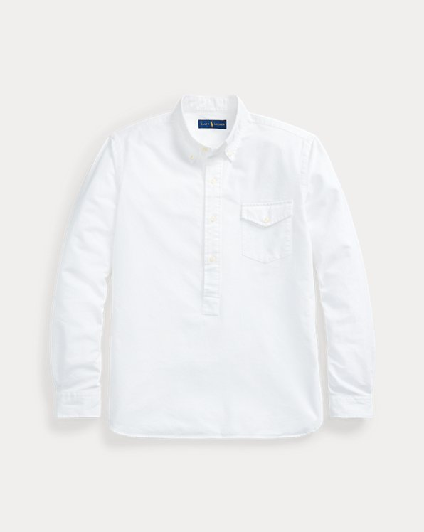 Classic Fit Oxford Popover Shirt