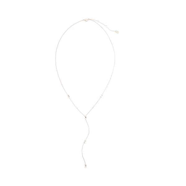 Baguette Lariat Necklace