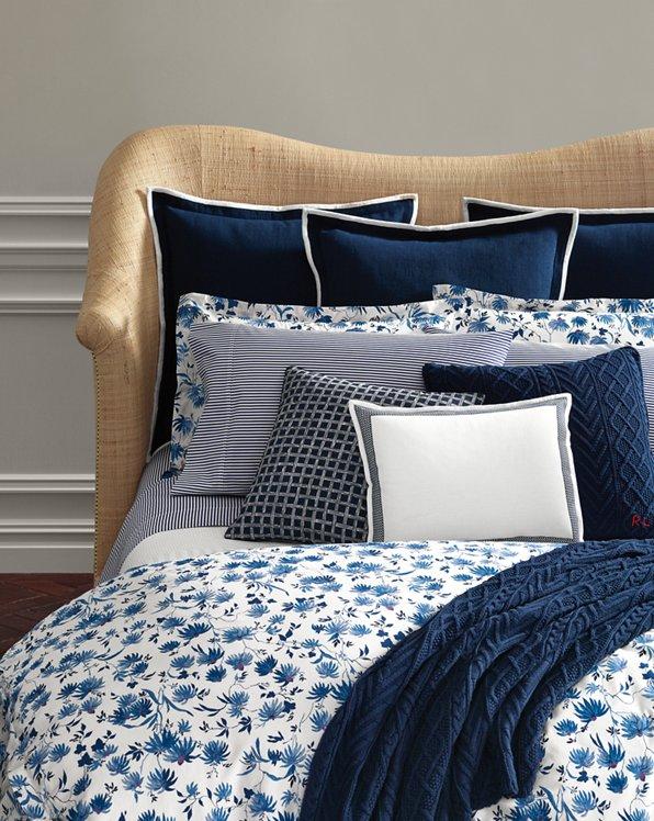 Adelaide Floral Sateen Comforter