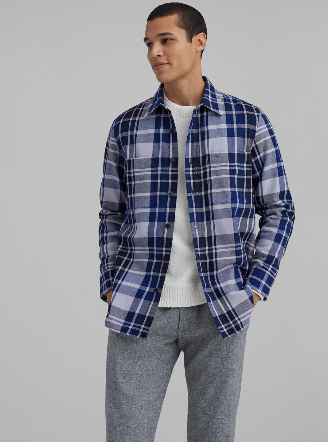 Oversized Plaid Workshirt