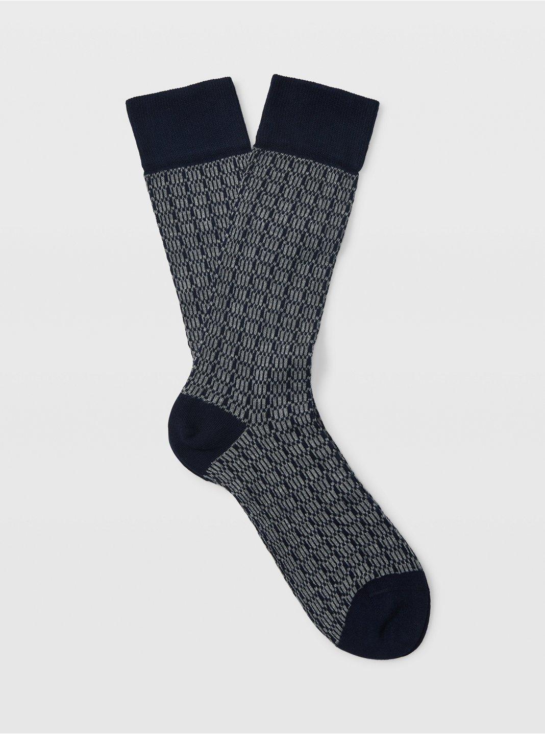 Geo Print Socks