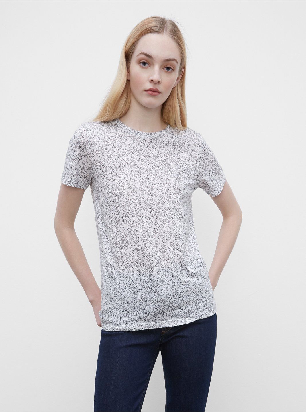 Floral Leary Tee